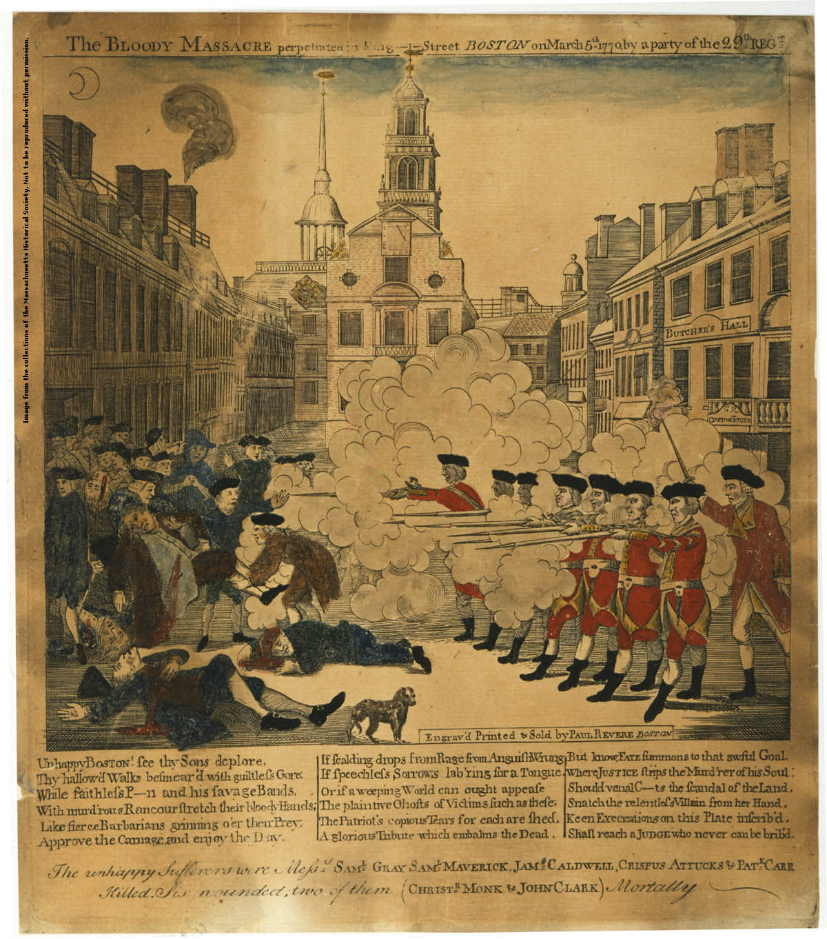 boston massacre research papers